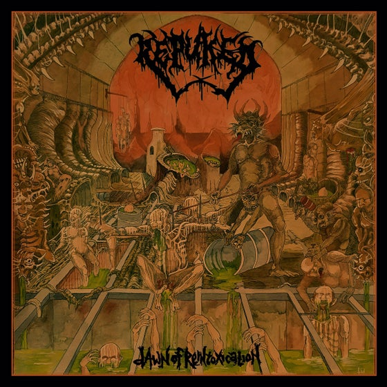 Image of Repuked • Dawn of Reintoxication (Black Vinyl)