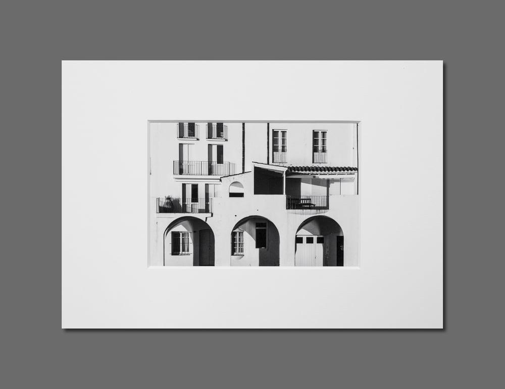 Image of CADAQUÉS - 11X16CM FINE ART PRINT IN A4 PASSE-PARTOUT