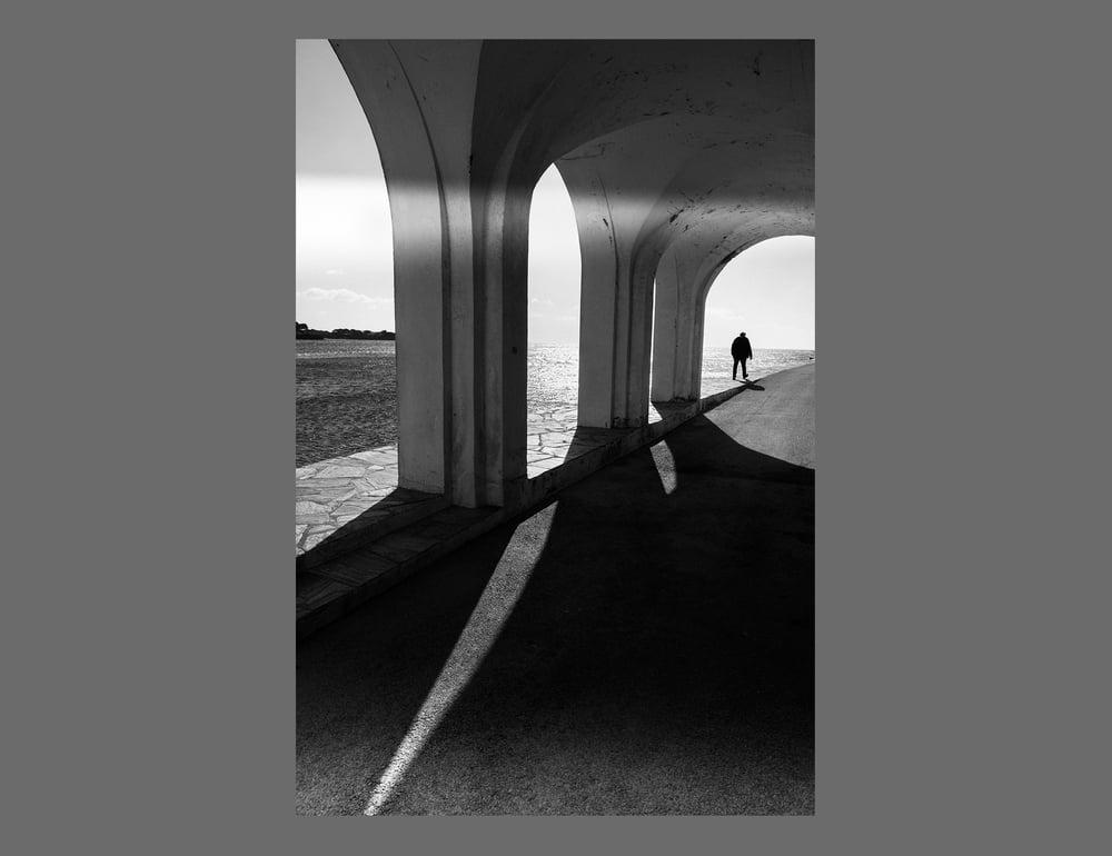 Image of ARCHES - 11X16CM FINE ART PRINT IN A4 PASSE-PARTOUT