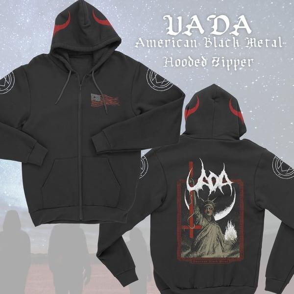 Image of American Black Metal Hoodie