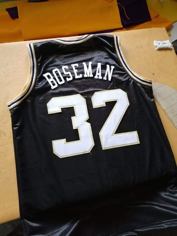Image of Chadwick Boseman High School Basketball custom