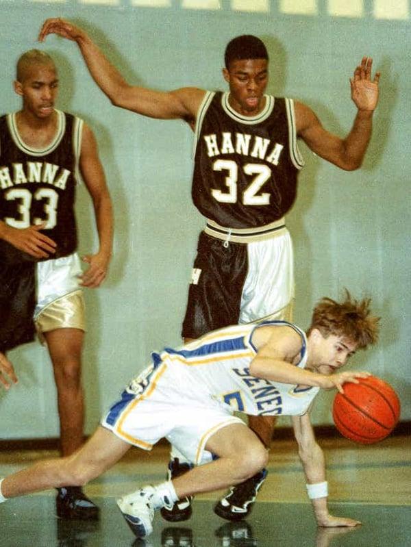 Image of Chadwick Boseman High School Basketball custom