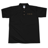 We Were Here   Embroidered Polo