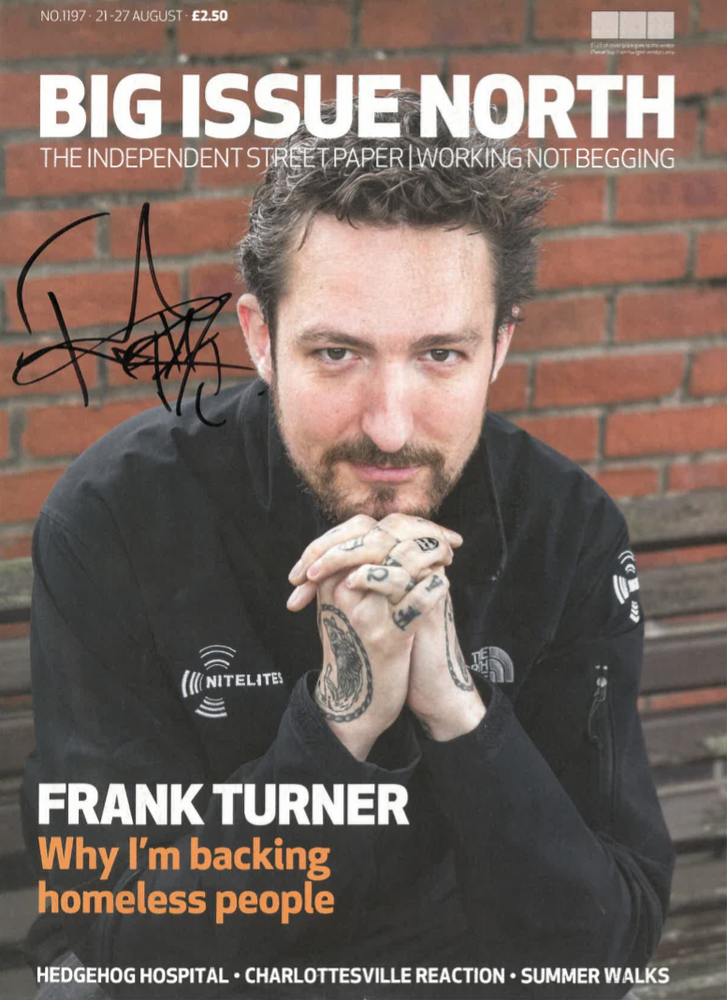 Image of LIMITED EDITION SIGNED Frank Turner issue