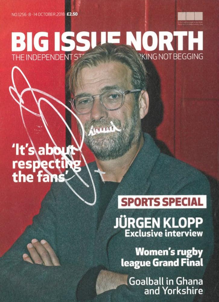 Image of LIMITED EDITION SIGNED Jürgen Klopp issue
