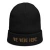 We Were Here | Embroidered Beanie