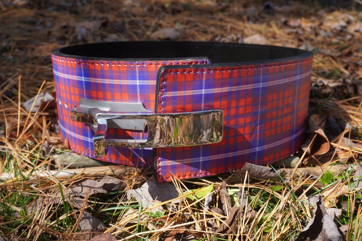 Image of The Strongman Belt *Limited Edition Plaid