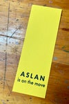 Aslan is On the Move Bookmark