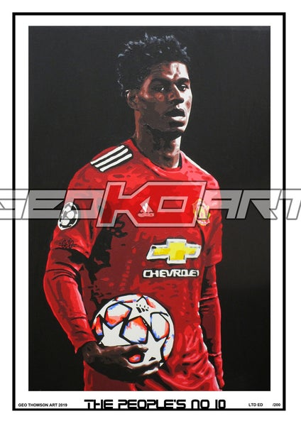 Image of MARCUS RASHFORD THE PEOPLE'S NO 10