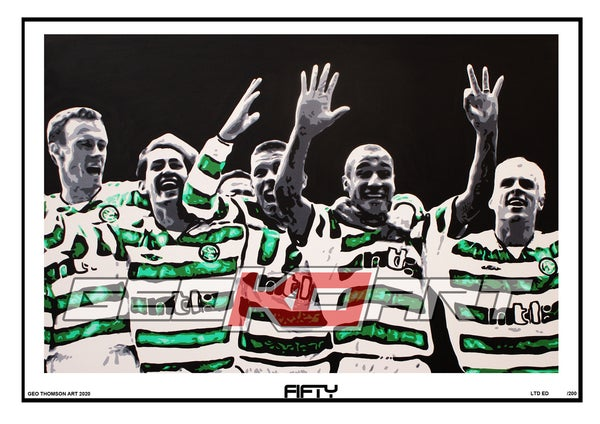 Image of HENRIK LARSSON CELTIC 50 GOALS
