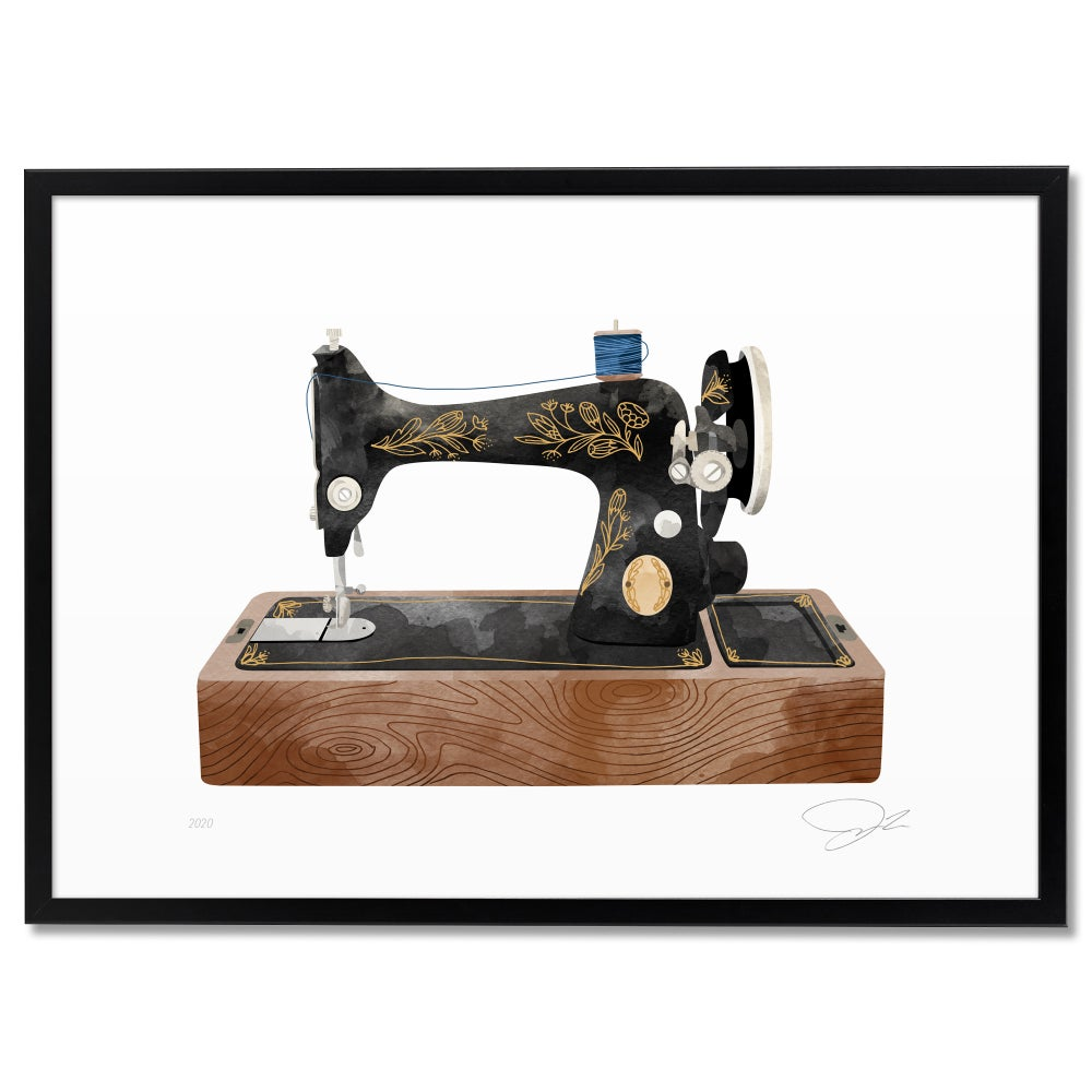 Image of Print: Sewing Machine
