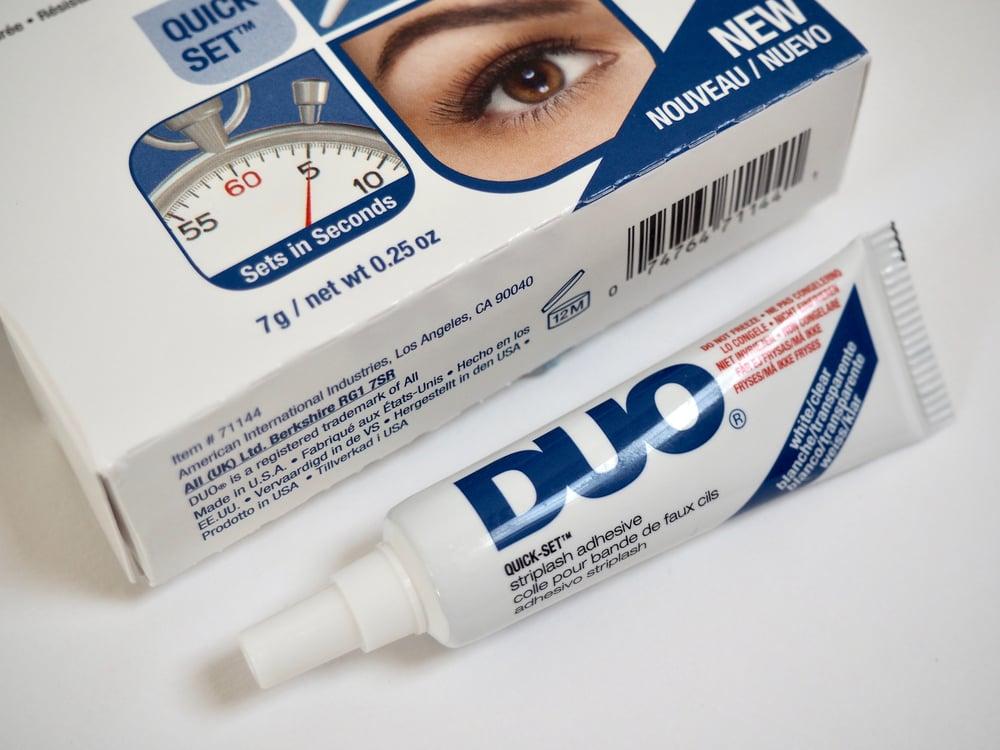 Image of Duo Quickset Striplash Adhesive Clear 7g