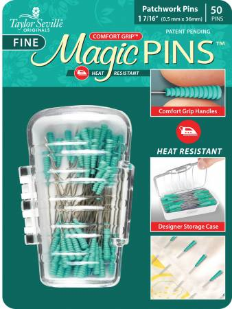 Image of My Favorite Pins 50pcs -Tailor Mate Magic Fine Pins Patchwork