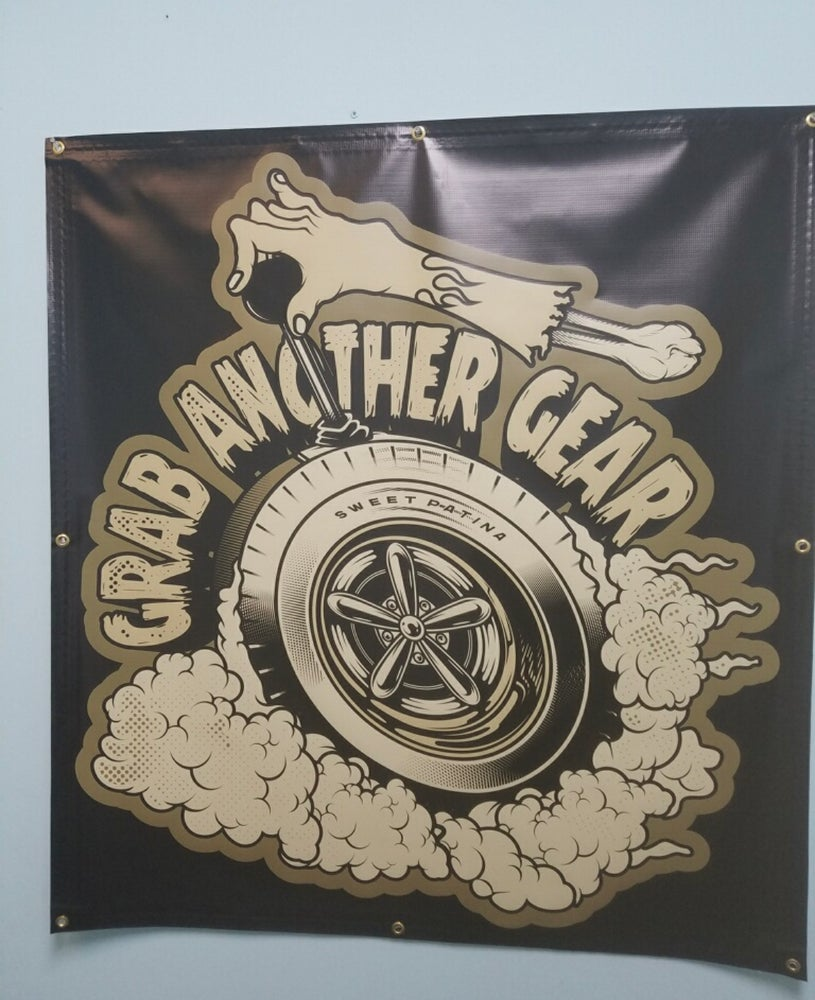 Image of Grab Another Gear Banner