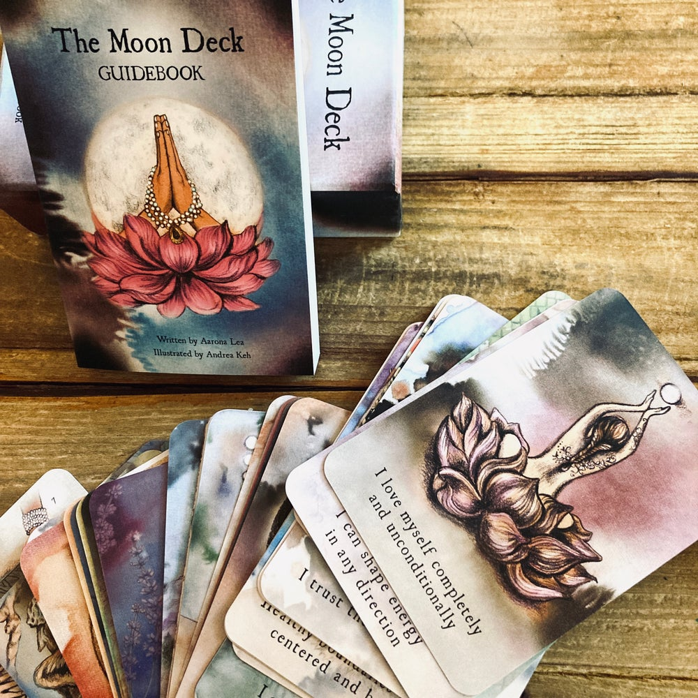 Image of Moon Deck <br><i>Oracle Cards for Intuitive Connection</i>