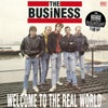 "the BUSINESS - ""Welcome To The Real Word"" LP (CLEAR VINYL)"