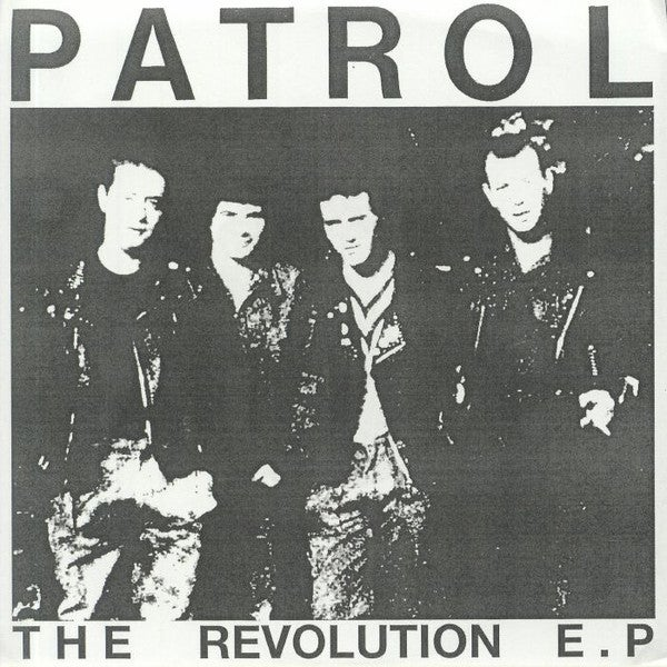 "Image of PATROL - ""The Revolution"" 7"" EP"
