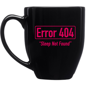 Image of Team Insomnia 16 oz. Bistro Style Glossy Mug