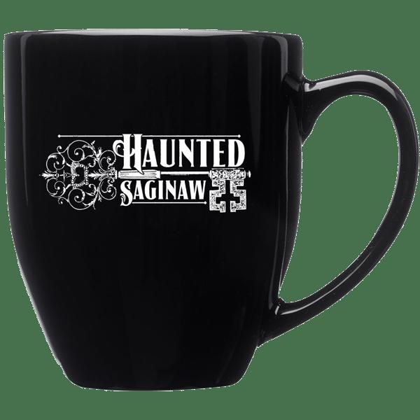 Image of Haunted Saginaw 16 oz. Bistro Style Glossy Mug