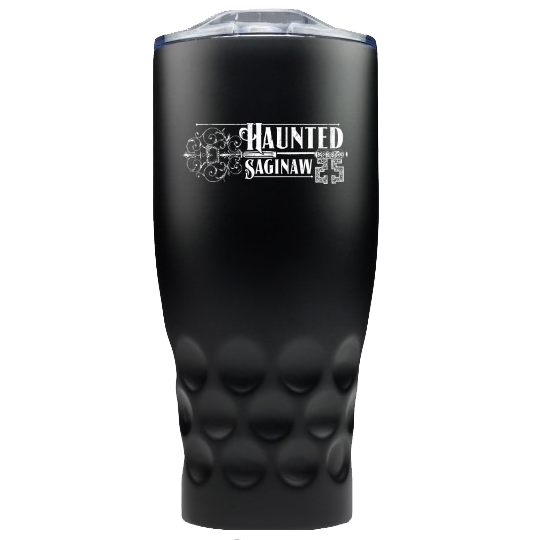 Image of Haunted Saginaw Stainless Steel Travel Mug