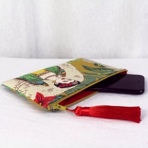Image of Phone Purse - Frida Mustard