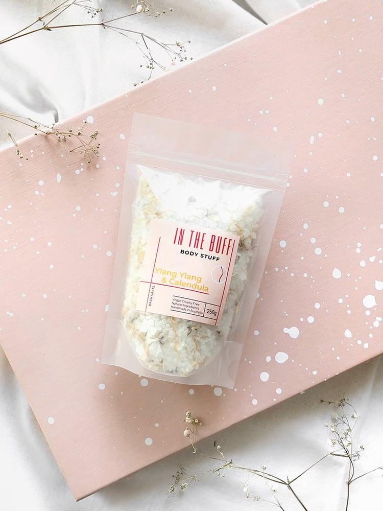 Ylang Ylang & Calendula Bath Salts