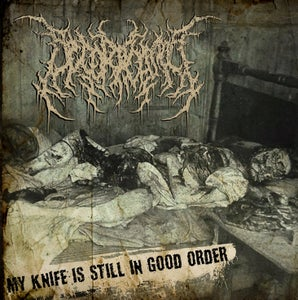 Image of DECORTICATION-MY KNIFE IS...COMBOPACK CD + T-SHIRT + LONGSLEEVE