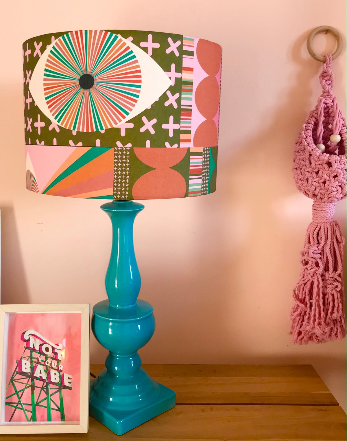 Image of  Limited Edition 'Eye Spy' Lampshade