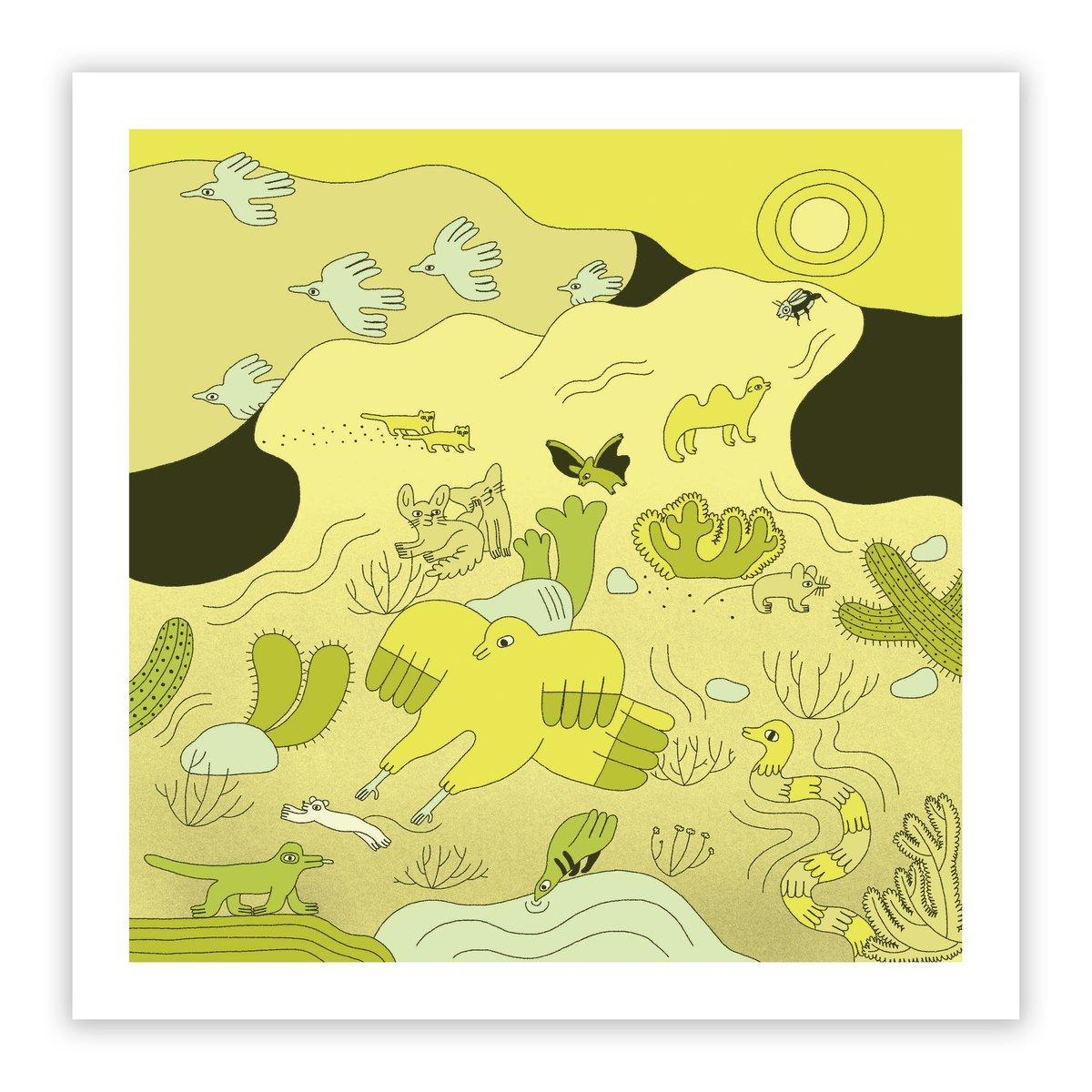 Image of Desert Print