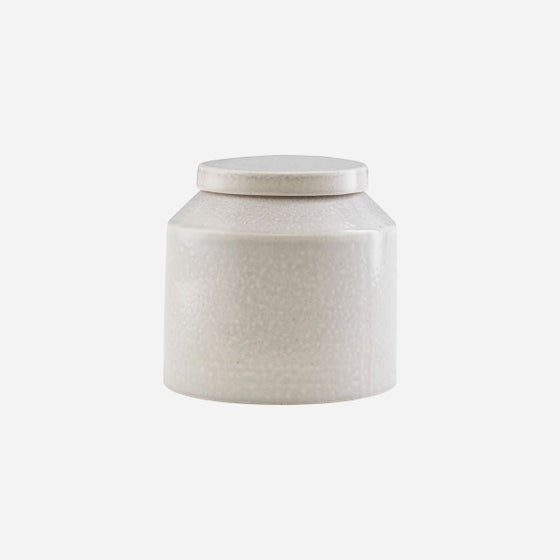 Image of Kala stoneware storage pot - tall