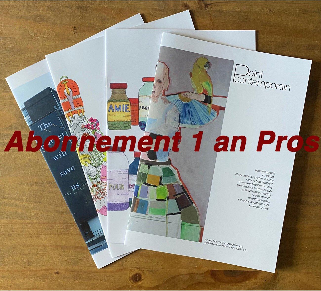 Image of Abonnement 1 an - 12 numéros - Professionnel