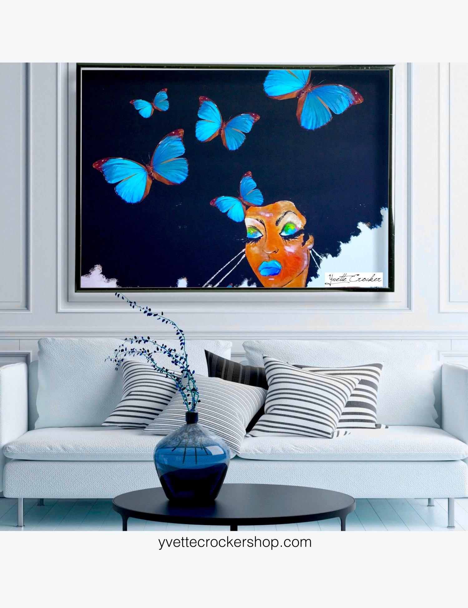 Image of SOMETHING BLUE POSTER