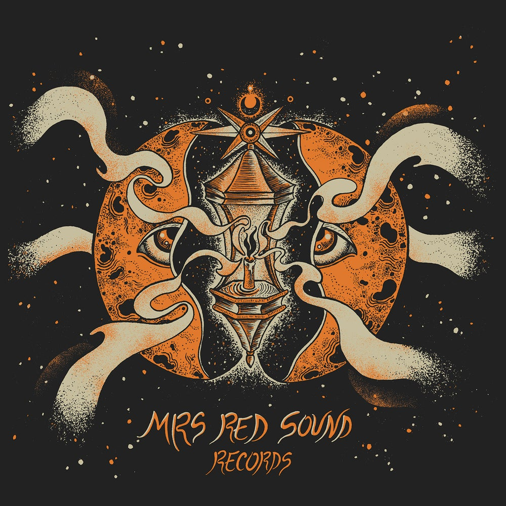 Image of MRS RED SOUND RECORDS 30X30 SILKSCREEN