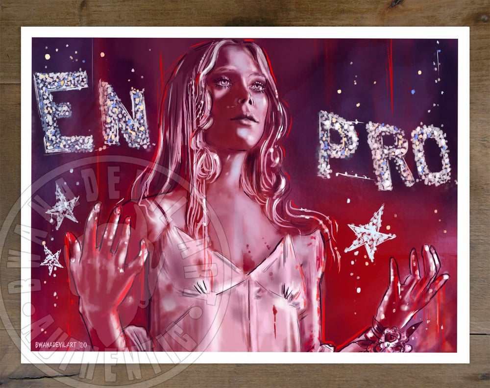 Image of Carrie Art Print (9x12 in.)