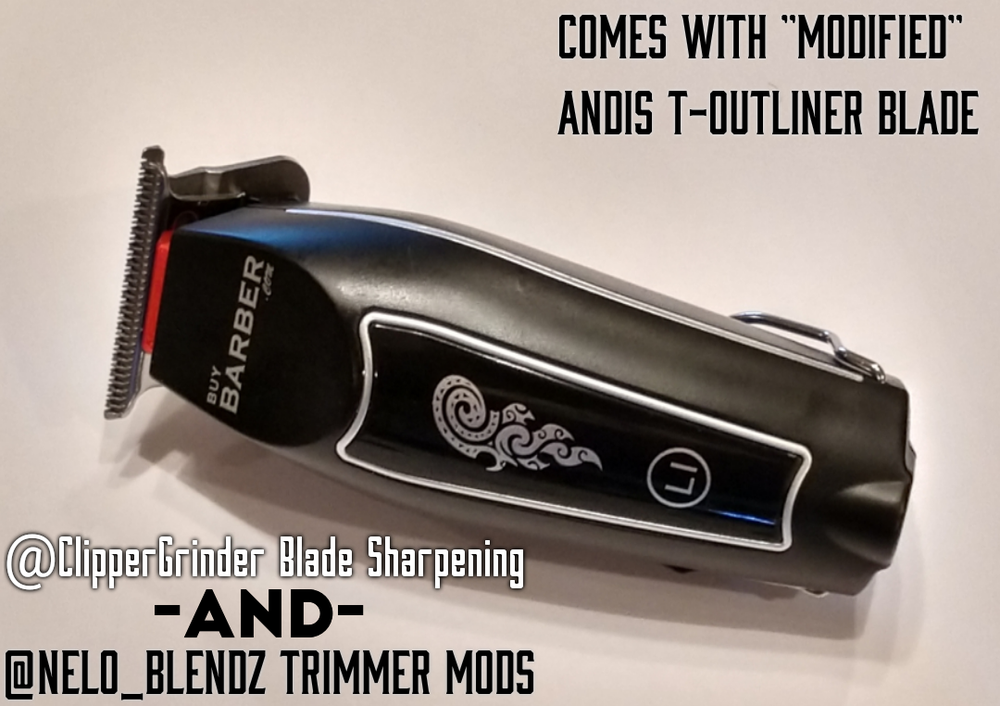Image of (3 Week Delivery/High Order Volume) Buy-Barber Trimmer W/Modified GTX Blade