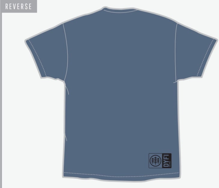 Image of Badger Sand T - blue
