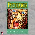 Pestilence Consvming textile poster flag