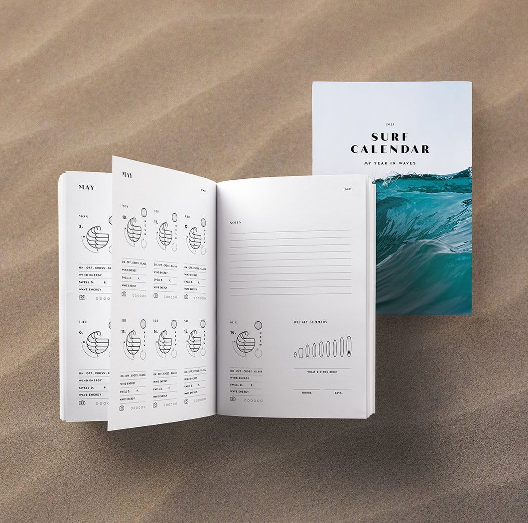 Image of Surf Calendar '21