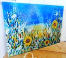 Image 3 of SUNFLOWER GLASS CHOPPING BOARD