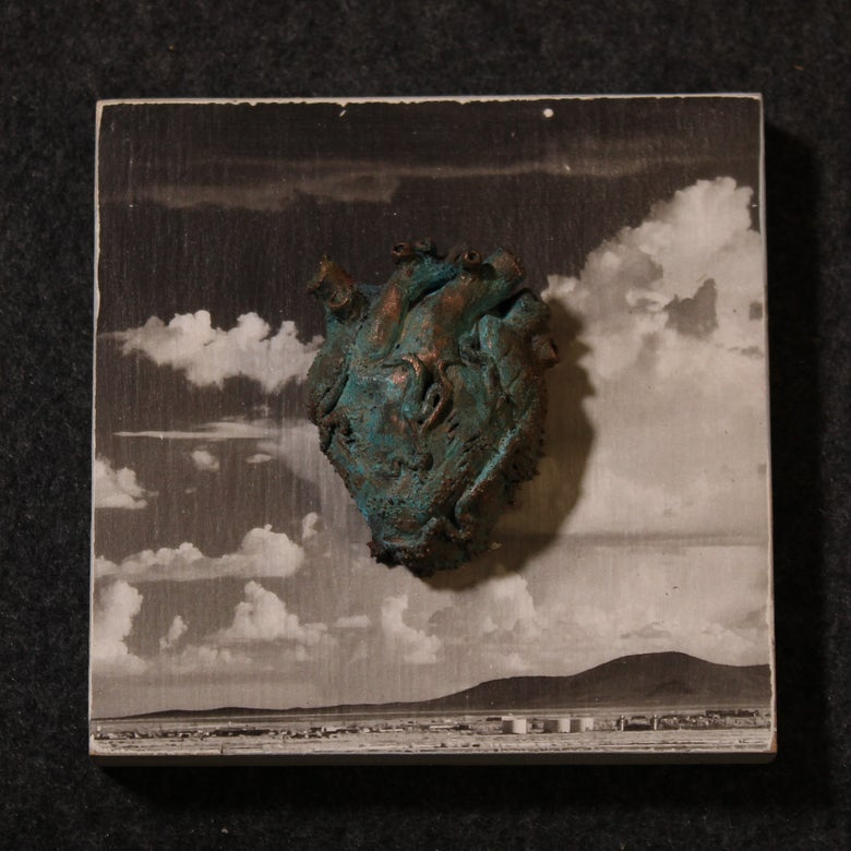 Image of Heart plaque 2