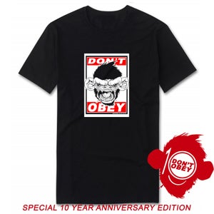 Image of DON'T OBEY SPECIAL LTD BLACK 10 YEAR EDITION