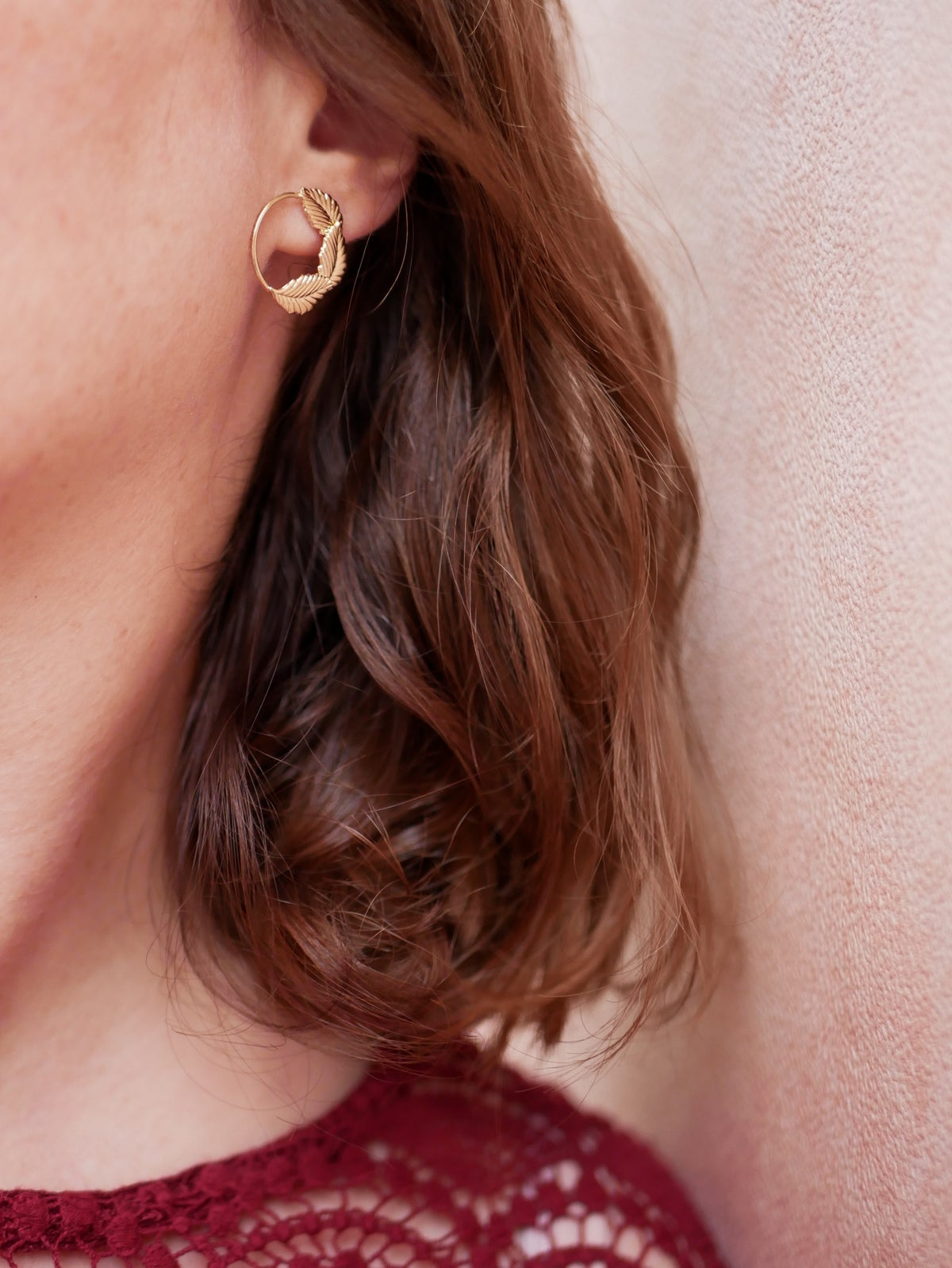 Image of Petites Boucles d'Oreilles OLLY