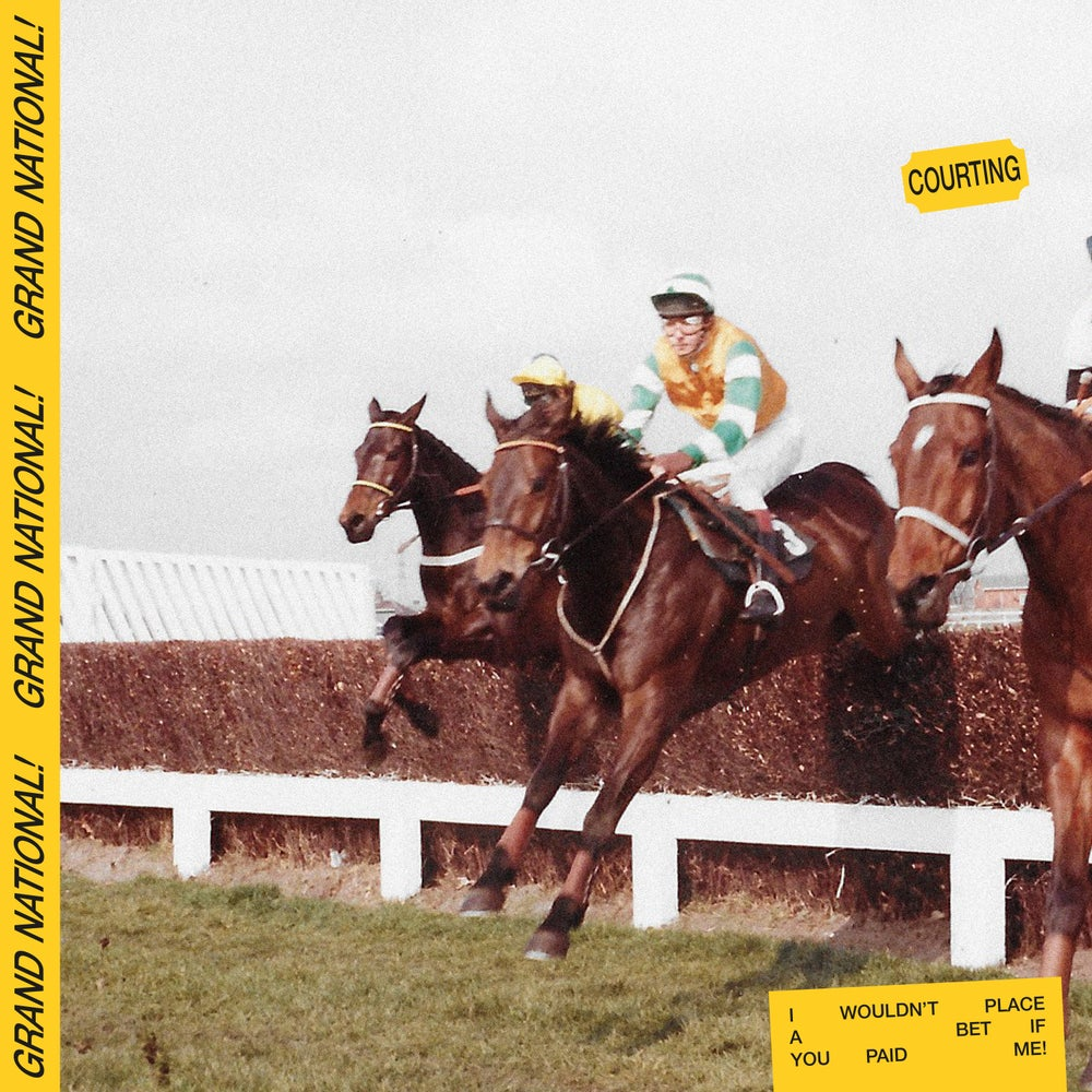 Image of Courting - Grand National EP - Pre Order