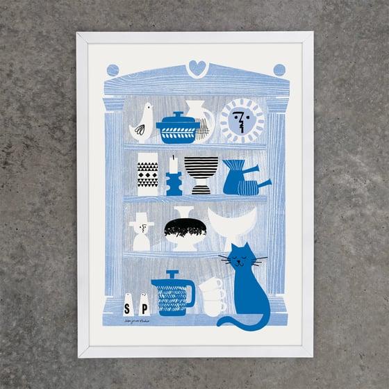 Image of Print | Pom Pom, the Potter's Pet