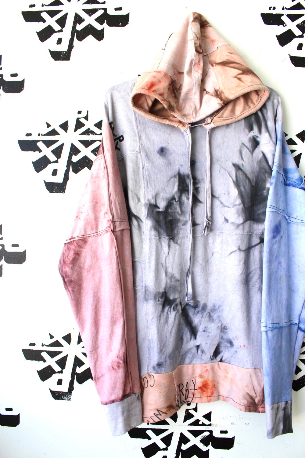 nothing to something cut and sew hoodie