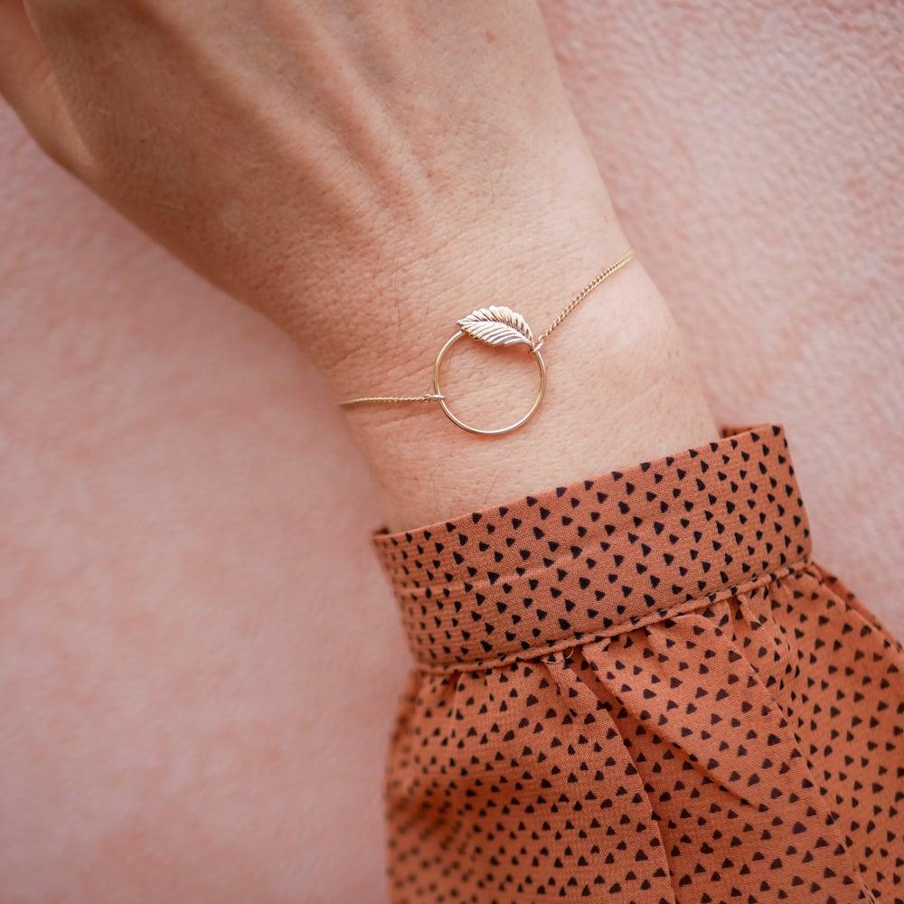 Image of Bracelet OLLY Doré