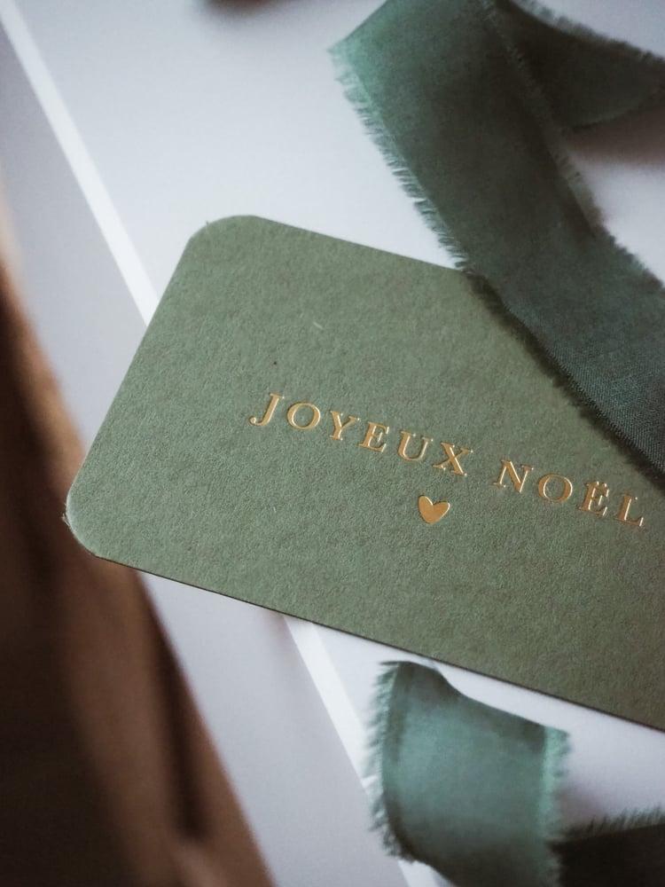 Image of Carte Noël GREENY (avec enveloppe)