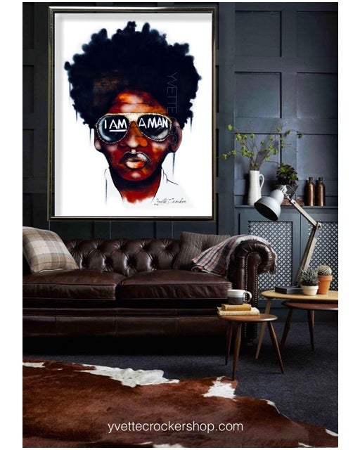Image of I AM A MAN | Black boy