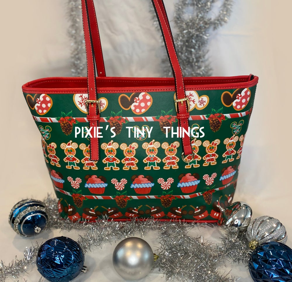 Image of Christmas snacks and treats Tote