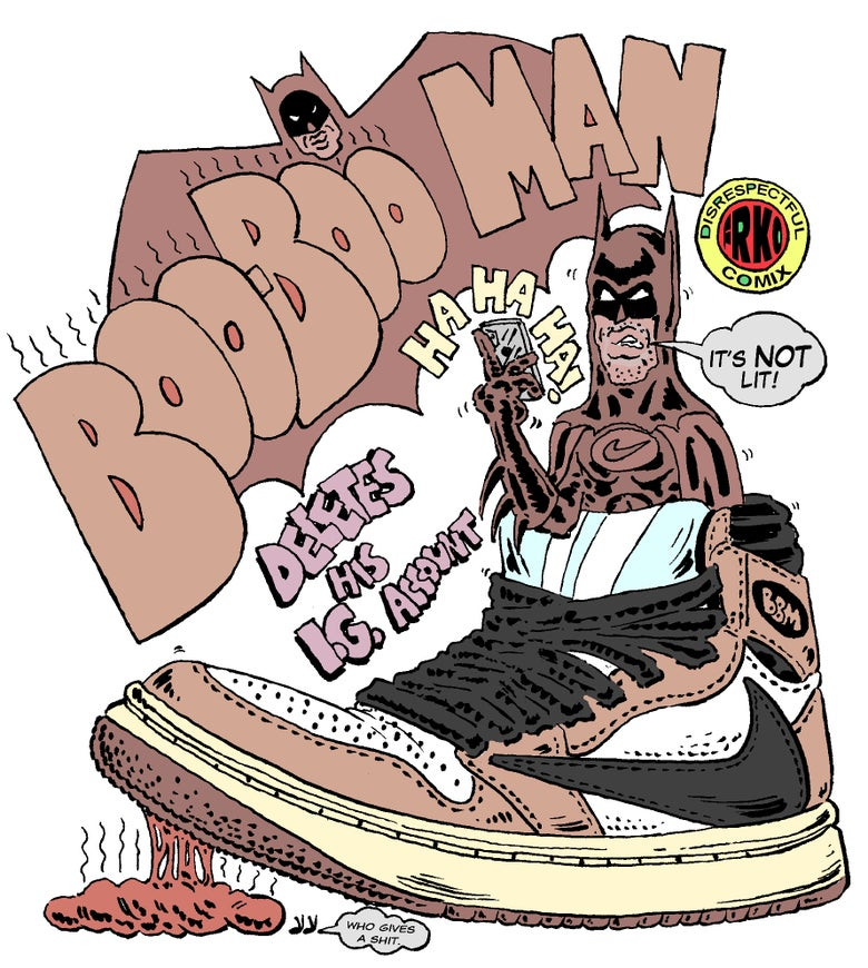 Image of BOO-BOO MAN PRINT